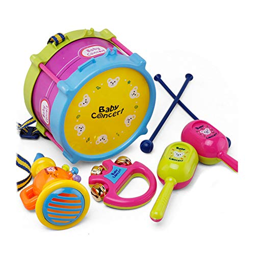Newin Star Juego 5pcs bebé Instrumentos Musicales