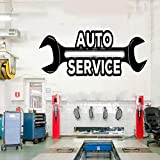 zqyjhkou Petit Pain d' Autocollant de Vinyle de Service de réparation Automatique de...