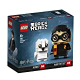 LEGO 41615 BrickHeadz Harry Potter & Hedwig Building Set, Construction Toy, Fun Wizard Gift for Kids