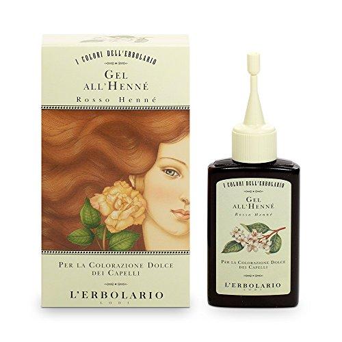 L'Erbolario Gel Riflessante Rosso Henne 70 ml,(Hennarot, Gel mit Henna), 1er Pack (1 x 70 ml)