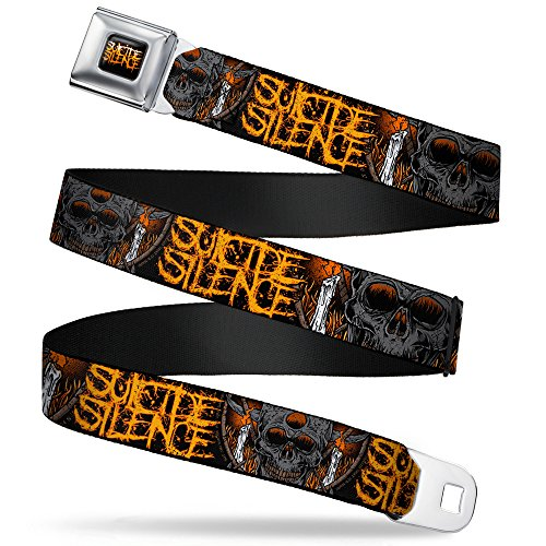 Buckle Down Seatbelt Suicide Silence Kids Belt