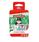 But du jeu:Le but du Monopoly Deal est de rassembler un maximum de propriétés et pourquoi pas prendre les biens de vos adversaires! Servez vous des cartes 'action' pour encaisser des loyers, échanger des cartes, demander de l'argent pour votre annive...