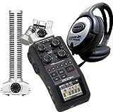Zoom H6 Recorder + SGH-6 Shotgun Mikrofon + KEEPDRUM Kopfhörer GRATIS!