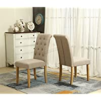 Amazon.co.uk: Fabric - Dining Chairs / Dining Room Furniture: Home ...