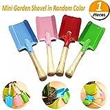 Mcree Mini Garten-Schaufel Holz und Metall für Kinder und Erwachsene, Outdoor Garden Tools Set Kinder Strand Sandkasten Spielzeug