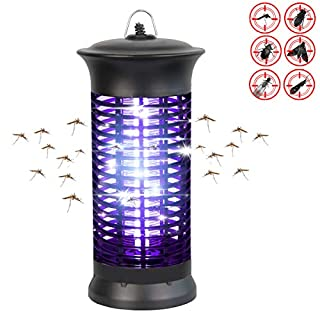 Loowoko Insect Killer, Mosquito Lamp UV Insect Bug Zapper Catcher Fly Trap Mosquito Killer Electronics Anti Fly Pest Control Lights for Home Kitchen Garden Indoor Use
