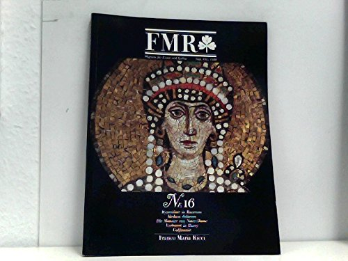 FMR. Magazin für Kunst und Kultur - Nr. 16 - September/Oktober 1988