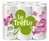 LeTrefle Papier Toilette Douceur Originelle Blanc 2 Plis 12 Rouleaux