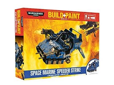 Warhammer 40'000 - 00081 - Maquettes de Figurines - Space Marine Speeder Strike