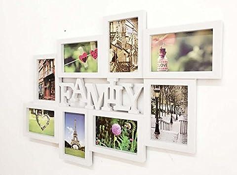 family&love Multi Apperture Photo / Cadre photo Contient 8 Photos - Cadeau Idéal , family