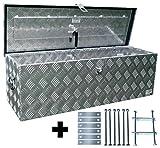 Truckbox D100 + MON 2014 Montagesatz, Werkzeugkasten, Deichselbox, Transportbox