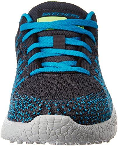 Skechers - Burst In The Mix, Sneaker Bambino CCTL BLUE/BLACK