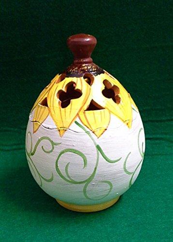 Ostern Schokolade Tür Keramik Linie Sonnenblumen