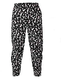 Enerhu Pantalones de Chef Unisex para Hombre Mujer M a 3XL Pantalones para cocinar