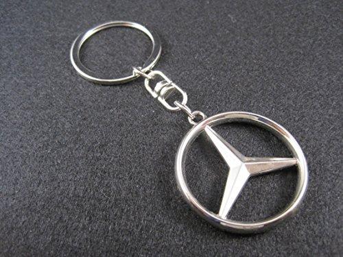 ETMA Porte-clés en métal Compatible avec Mercedes lla001-24
