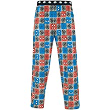 Marvel Pantalones del Pijama para Hombre Spiderman