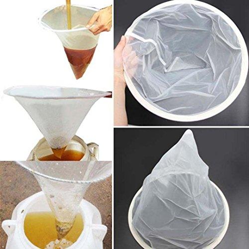 TAOtTAO Colador de miel para apicultura, filtro de red, filtro de miel, herramientas de miel, cubo de miel