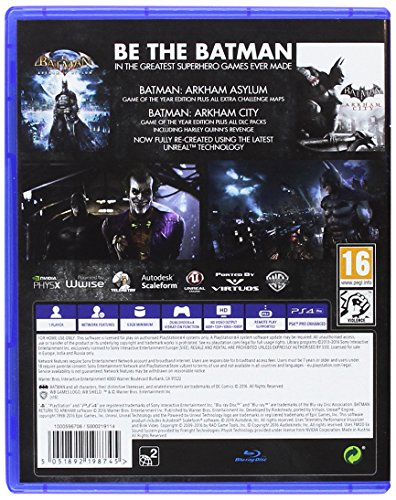 Batman: Return To Arkham [Importación Inglesa]