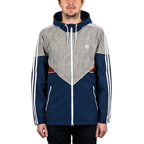 Adidas Colorado Nautical Windbreaker Mystery Blue/Mystery Red/Solid Grey/White L