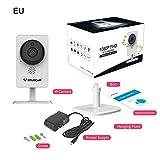 favourall WLAN IP Camera di sicurezza,360incernierato telecamera di sorveglianza, Visione notturna di rilevazione di movimento audio,2canali funzione, monitoraggio del eigenheims