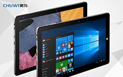 CHUWI HiBook PRO 10.1 Zoll Windows 10 / Android 5.1 Dual-Boot-2-in-1-Tablet PC-Intel Atom X5 Cherry Trail Z8300 Viererkabel, volles HD 2560x1660 - 4G RAM / 64G ROM - Typ C USB 3.0