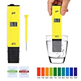 Condant Digitaler pH-Meter, Digitaler pH-Meter Digitaler pH-Meter pH-Meter Prüfgerät mit ATC