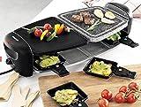 SilverCrest Raclette-Grill m. Naturstein-Platte