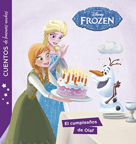 Frozen. Cuentos de buenas noches. El cumpleaños de Olaf por Disney