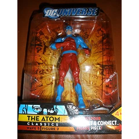 DC Universe Classics Series 5 Exclusive Action Figure The Atom Build Metallo Piece! by DC Comics