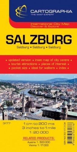 Plan Cartographia Salzbourg