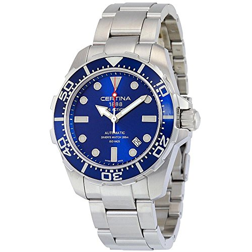 Certina DS Action Diver Homme 43.2mm Automatique Montre C013.407.11.041.00