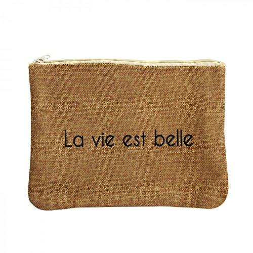 Shopping-et-Mode - Sac à main beige en cuir véritable, de grande qualité - Beige, Cuir véritable