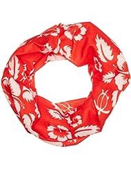 Black Canyon Bandana - Bandana (50 x 25 cm), color rot mit weißen blumen - 50x25