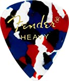 Fender 351 Classic Celluloid Picks 12-Pack (Confetti)Heavy