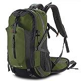 Trekkingrucksäcke 45L Wanderrucksack Reißfest Großer Outdoor Camping Rucksack mit Regenschutzhülle für Wandern Bergsteigen Reisen Sport und Campen