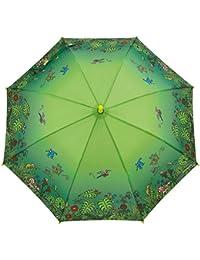 Paraguas Kukuxumusu Infantil Jardín Verde