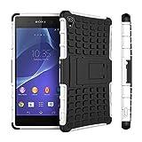 Etui ProteKtoR Sony Xperia Z3+ (Z4) Dual Sim (3G/Wifi/4G/LTE) blanc/noir...