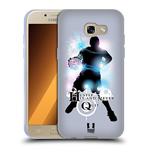 Head Case Designs Basketball Extremsportarten Soft Gel Hülle für Samsung Galaxy A3 (2017)