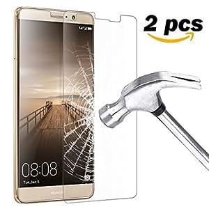 """Ubegood Huawei mate 9 Pellicola Protettiva , Mate 9 Vetro temperato 3D Toccare Compatibile [2-Pack] Huawei mate 9 Screen Protector in Vetro Temperato per Huawei mate 9 (5,9"""")"""