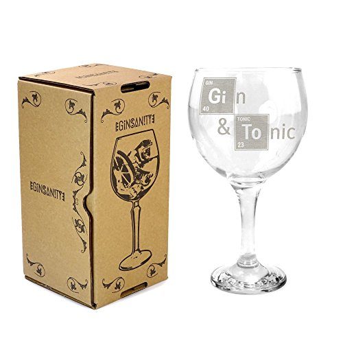 Ginsanity 22oz (645ml) Gin Balloon Glass Cocktail - Gin & Tonic Essent