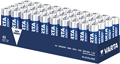Varta 4906 High Energy AA/Mignon/LR06 Batterie 10 x 4-Pack Lr6