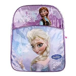 Disney - Frozen Heart - Cartable Sac A Dos avec Elsa et Anna -La Reine des Neiges