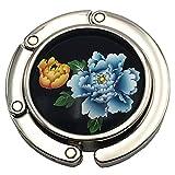 1x neu Blumen Muster Taschenhalter Handtaschenhalter Taschenbutler Halter Haken -