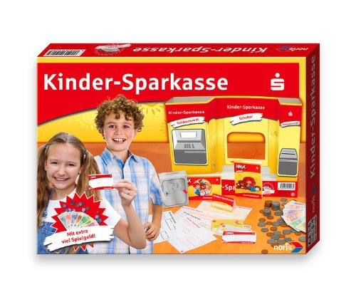 Noris 606311026 - Kinder Sparkasse, Kinderspiel