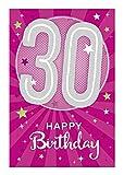 Depesche 5698.043 - Glückwunschkarte mit Musik, 30. Geburtstag