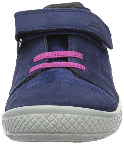 Superfit Tensy Mädchen Sneakers Blau (Water Kombi 88)