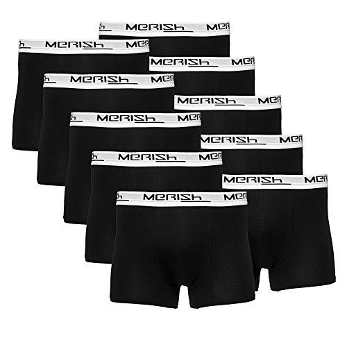 MERISH BoxerShort Set multi colorata pacco da 5/10 vestibilità comoda,
