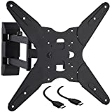 "Cattail TV Wall Mount Bracket With Full Motion Swing Out Tilt For 17""23""27""30""32"" 39"" 40"" 42"" 43"" 45"" 48"" 49"" 50"" 55"" Inch LED LCD OLED Plasma Flat Screen Displayer Monitor Up To110 Lbs"