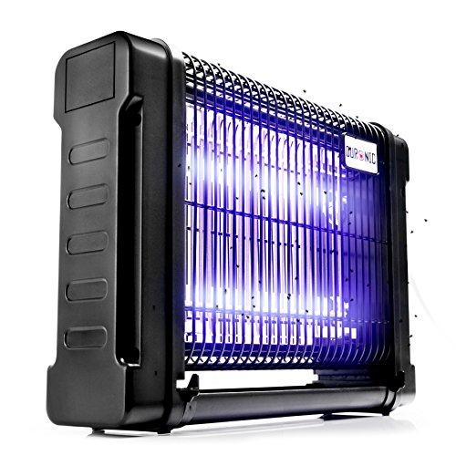 Duronic FK8416 Insektenvernichter - Mückenschutz - Insektenfalle -2 x 8V UV UV Insektenlampe - elektrisch