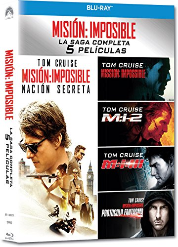 Pack: Misión Imposible 1-5 [Blu-ray]